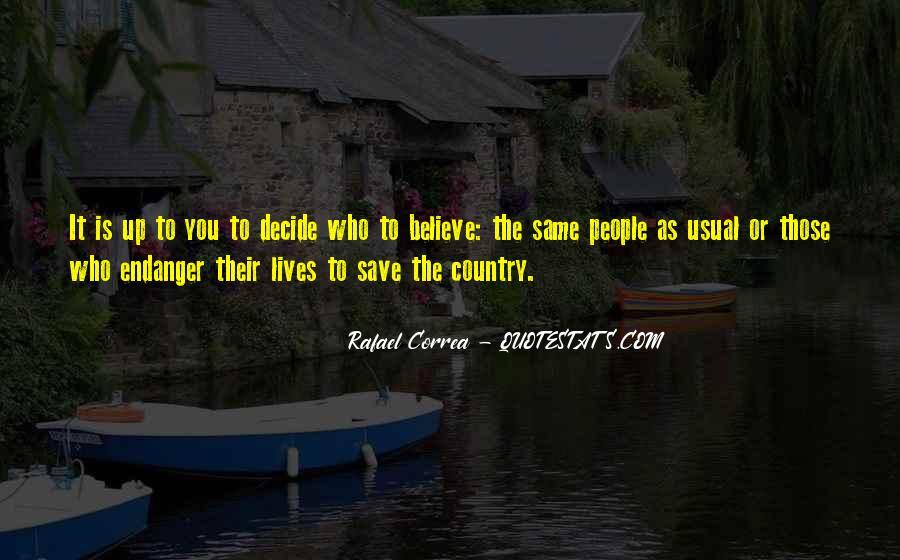 Rafael Correa Quotes #829032