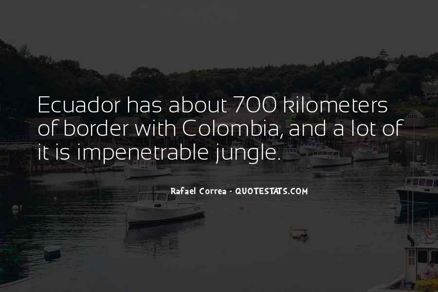 Rafael Correa Quotes #878309