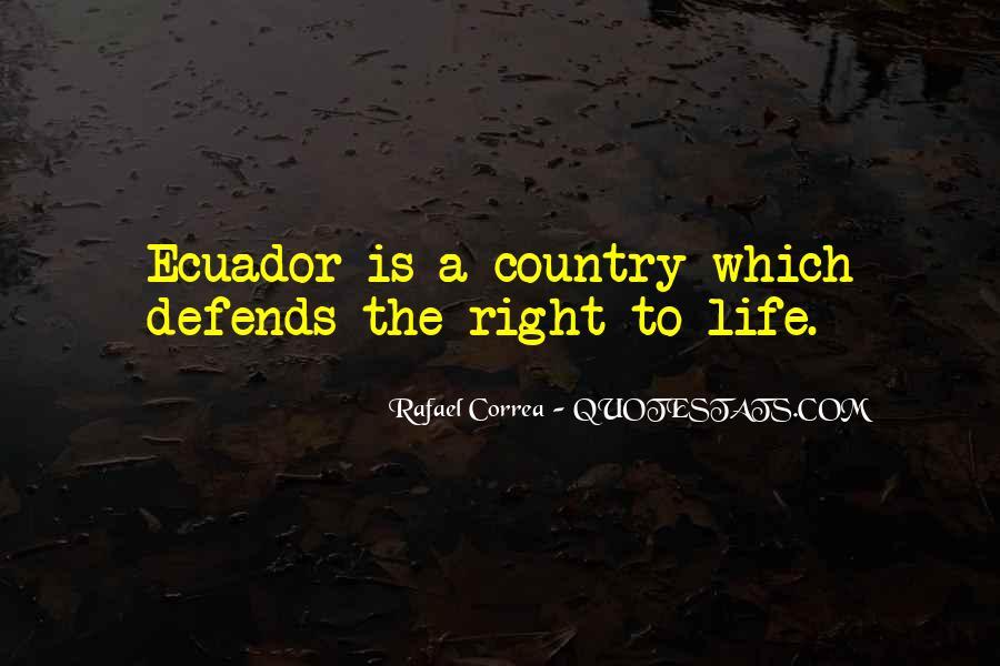 Rafael Correa Quotes #920618