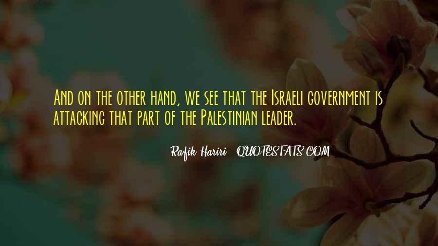 Rafik Hariri Quotes #1783542