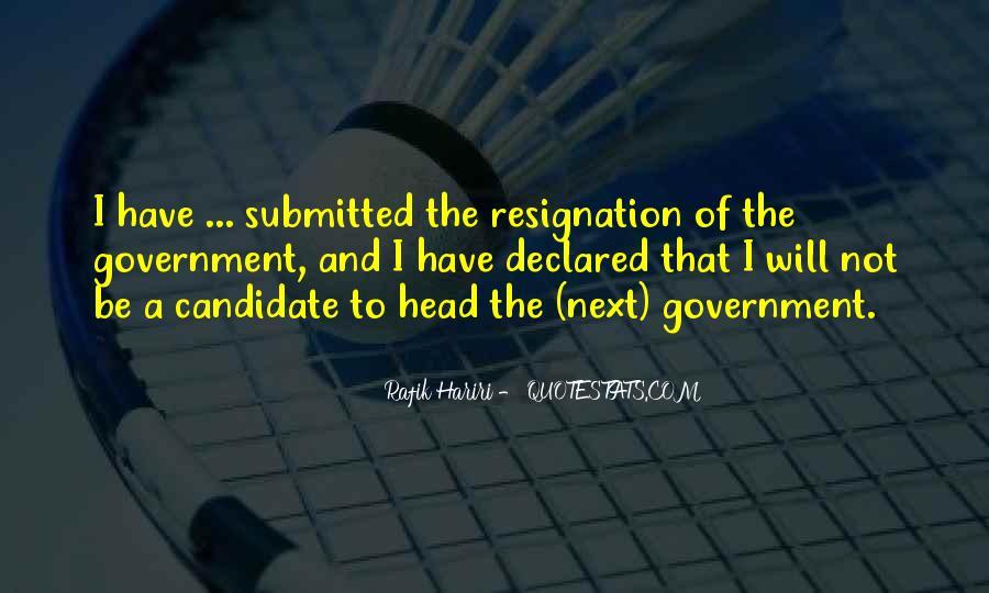 Rafik Hariri Quotes #185770