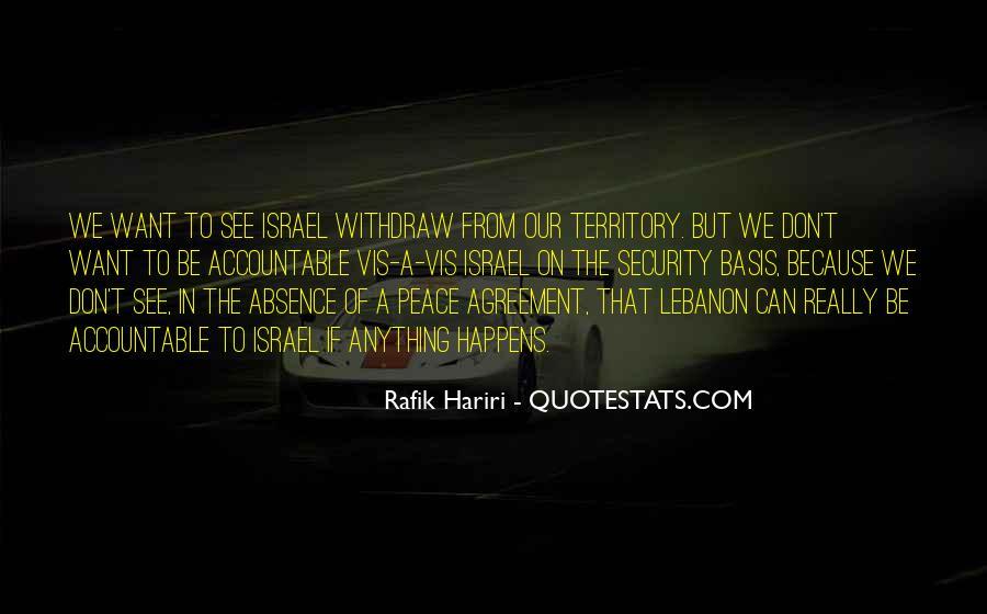 Rafik Hariri Quotes #840624