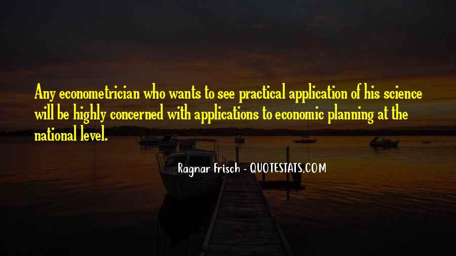 Ragnar Frisch Quotes #140176