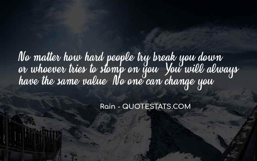 Rain Quotes #1147607