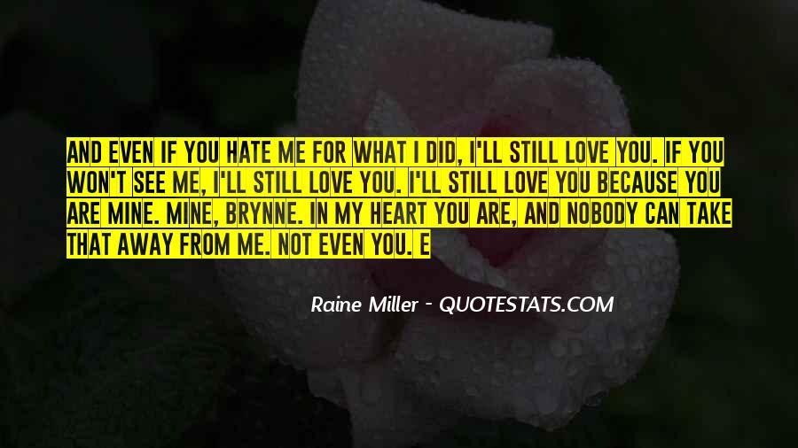 Raine Miller Quotes #1210158