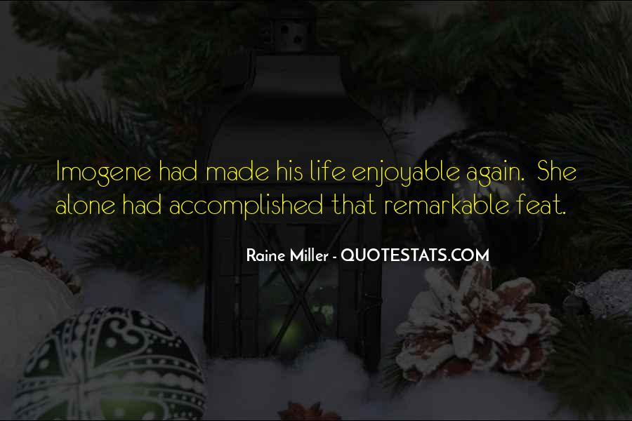 Raine Miller Quotes #599360