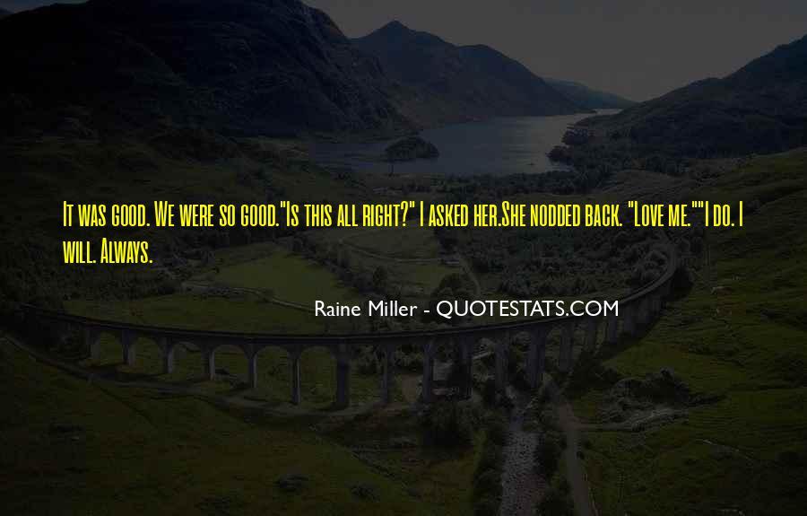 Raine Miller Quotes #831410