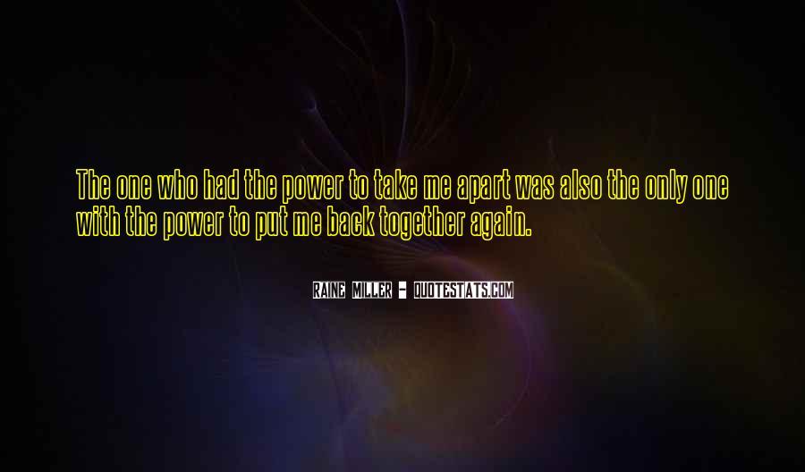 Raine Miller Quotes #900956
