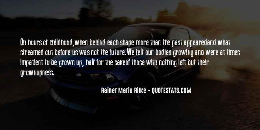 Rainer Maria Rilke Quotes #112396