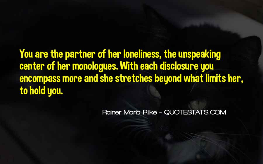 Rainer Maria Rilke Quotes #1124525