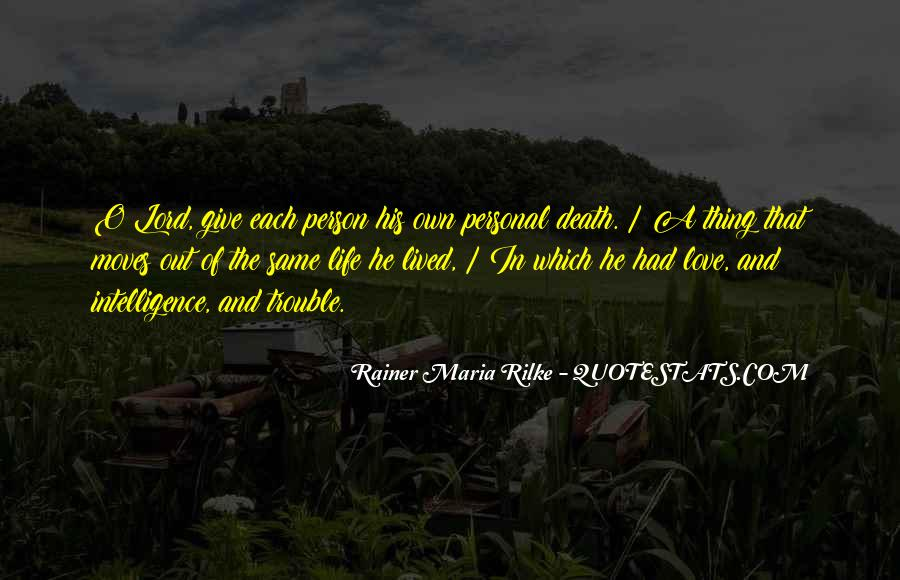 Rainer Maria Rilke Quotes #1191187