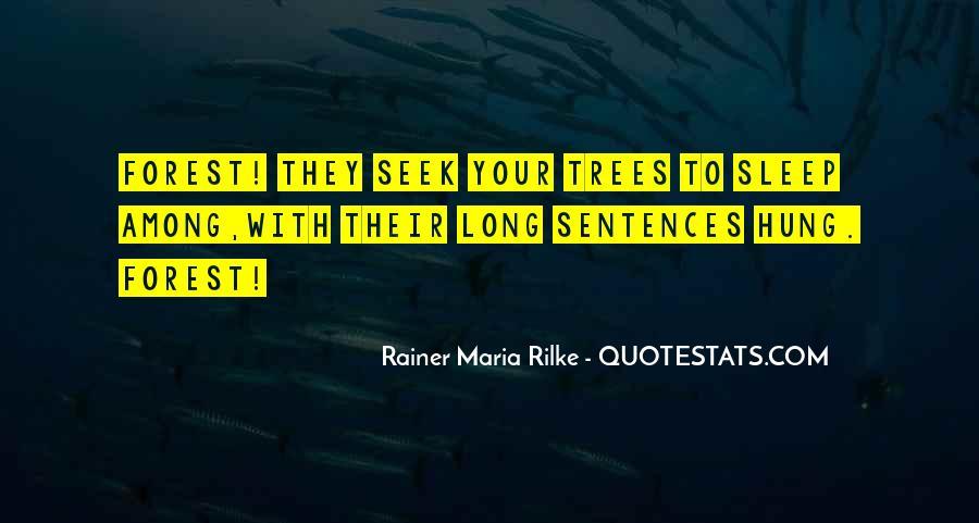 Rainer Maria Rilke Quotes #1237421