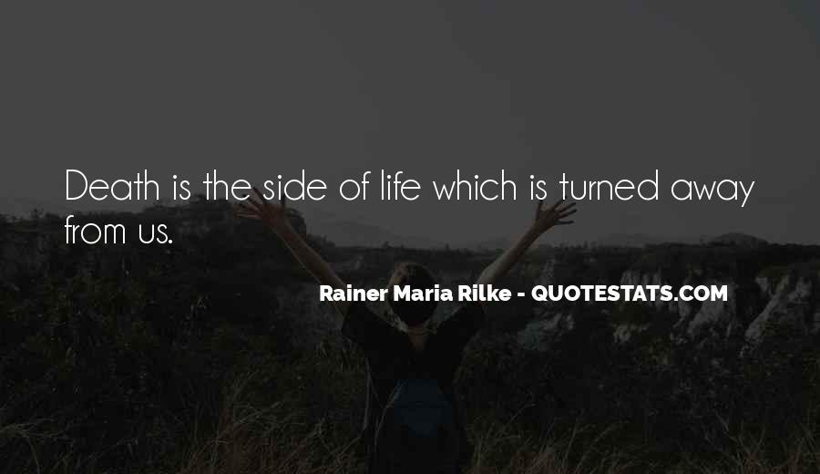 Rainer Maria Rilke Quotes #1317594