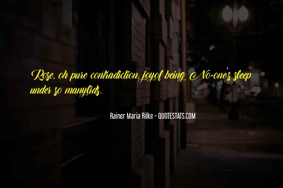 Rainer Maria Rilke Quotes #1337387