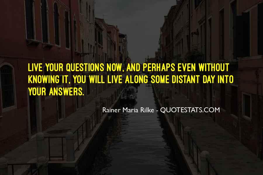 Rainer Maria Rilke Quotes #158927