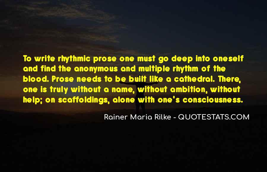 Rainer Maria Rilke Quotes #708011