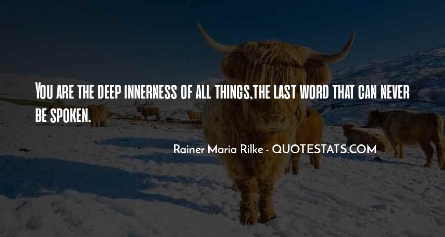 Rainer Maria Rilke Quotes #876464