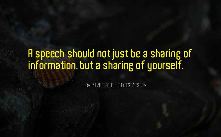 Ralph Archbold Quotes #228493