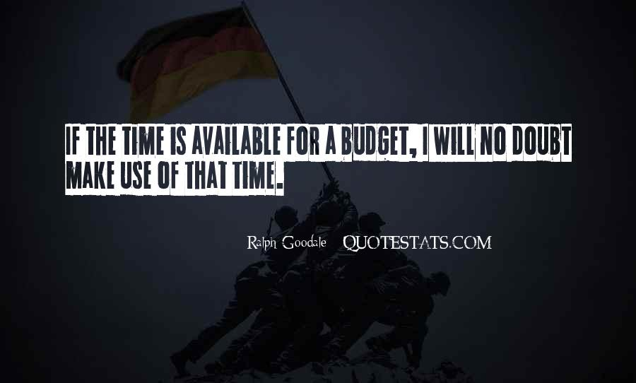 Ralph Goodale Quotes #1859159