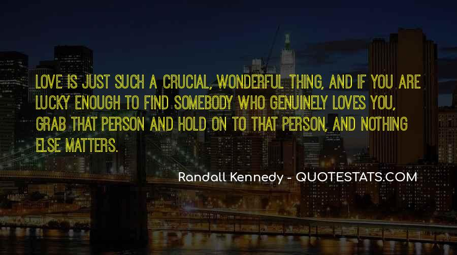 Randall Kennedy Quotes #840471