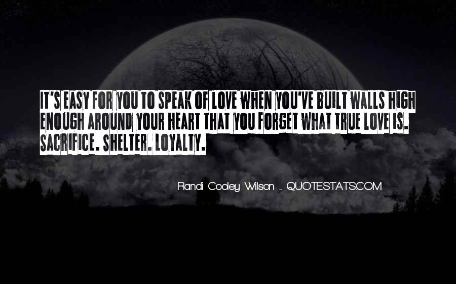 Randi Cooley Wilson Quotes #961161