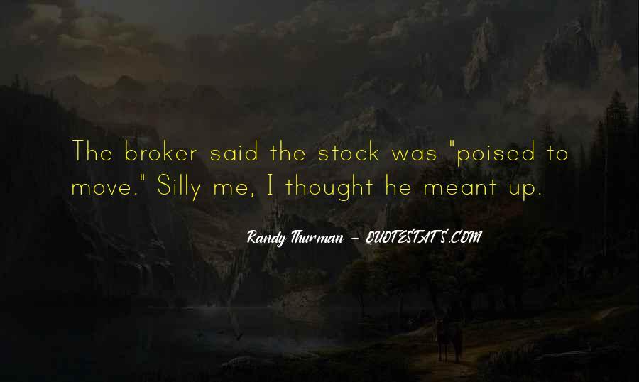 Randy Thurman Quotes #1634137