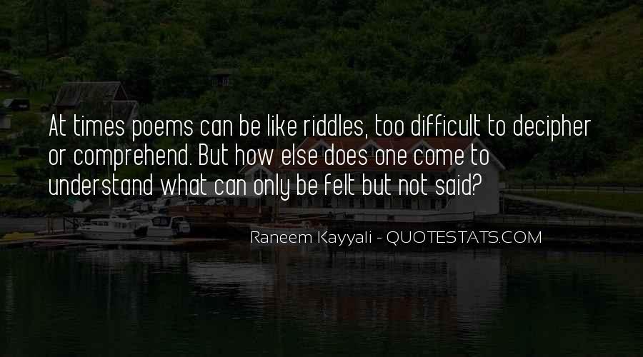 Raneem Kayyali Quotes #805760