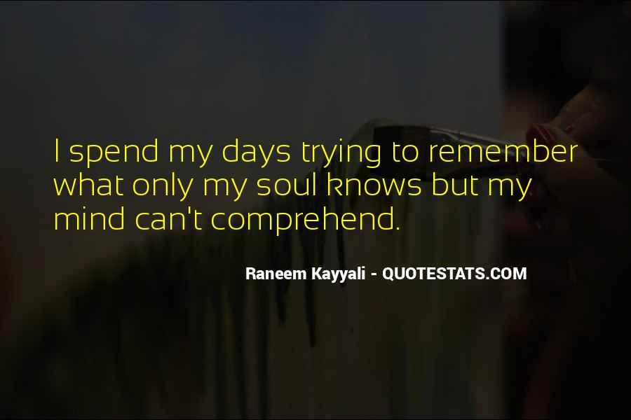 Raneem Kayyali Quotes #815173