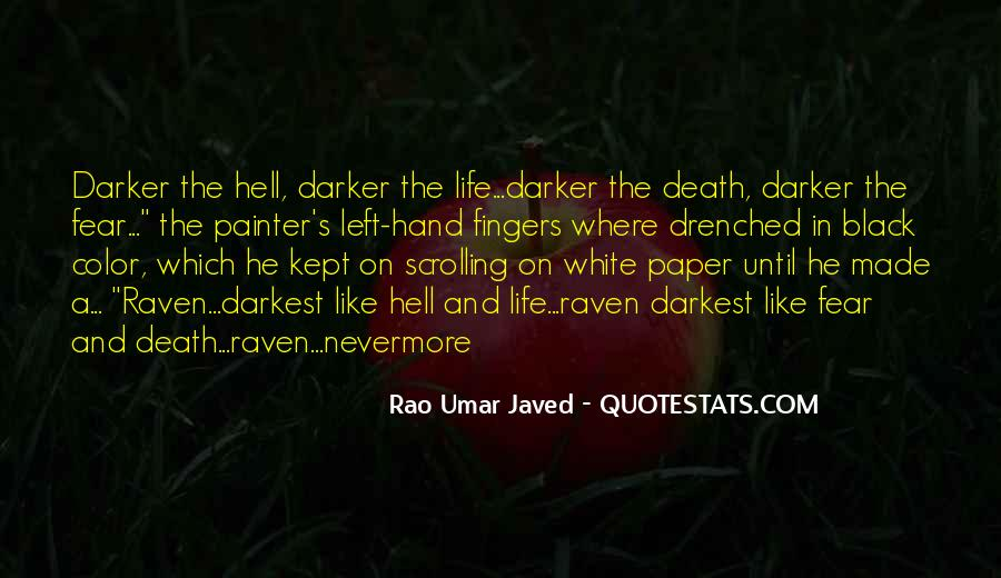 Rao Umar Javed Quotes #1717855