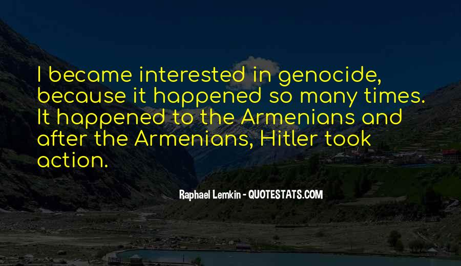 Raphael Lemkin Quotes #1849740