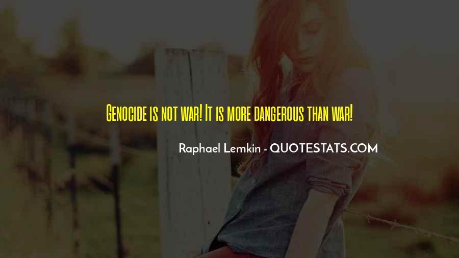 Raphael Lemkin Quotes #452352