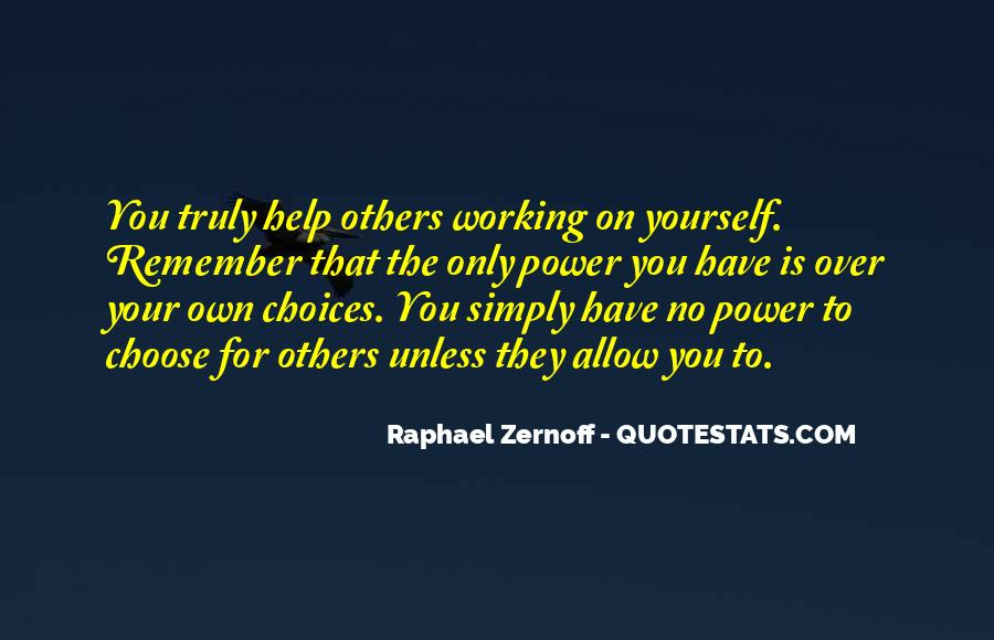 Raphael Zernoff Quotes #1595173