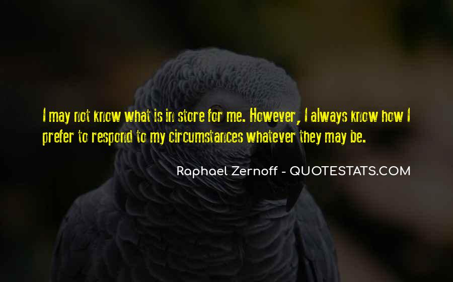 Raphael Zernoff Quotes #1865171