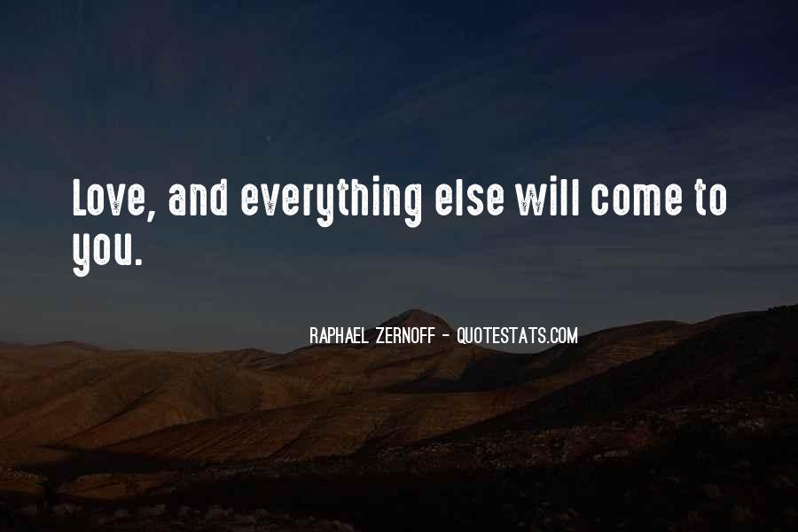 Raphael Zernoff Quotes #311438