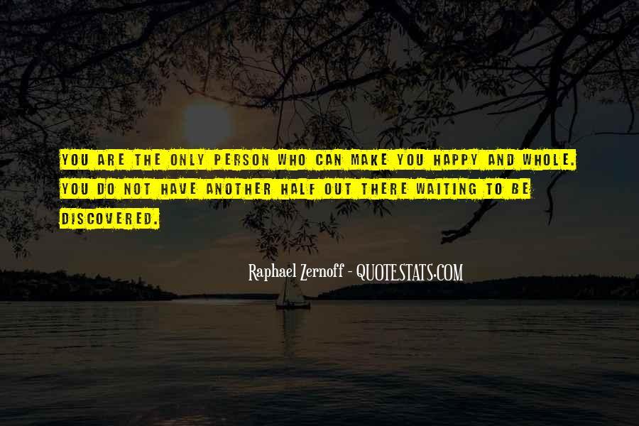 Raphael Zernoff Quotes #604641