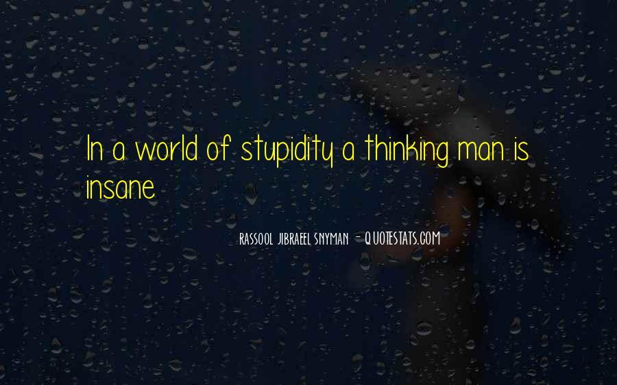 Rassool Jibraeel Snyman Quotes #1197552