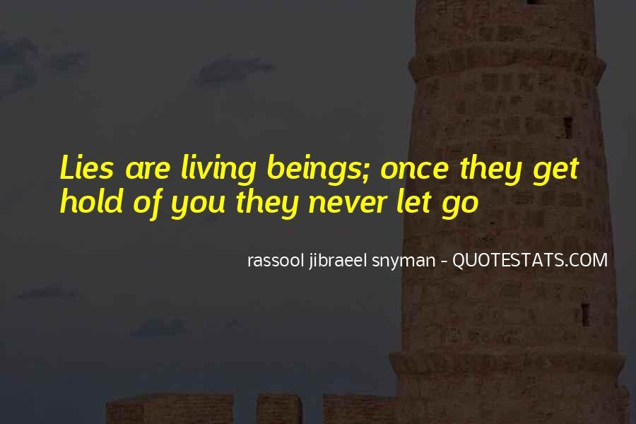 Rassool Jibraeel Snyman Quotes #147254