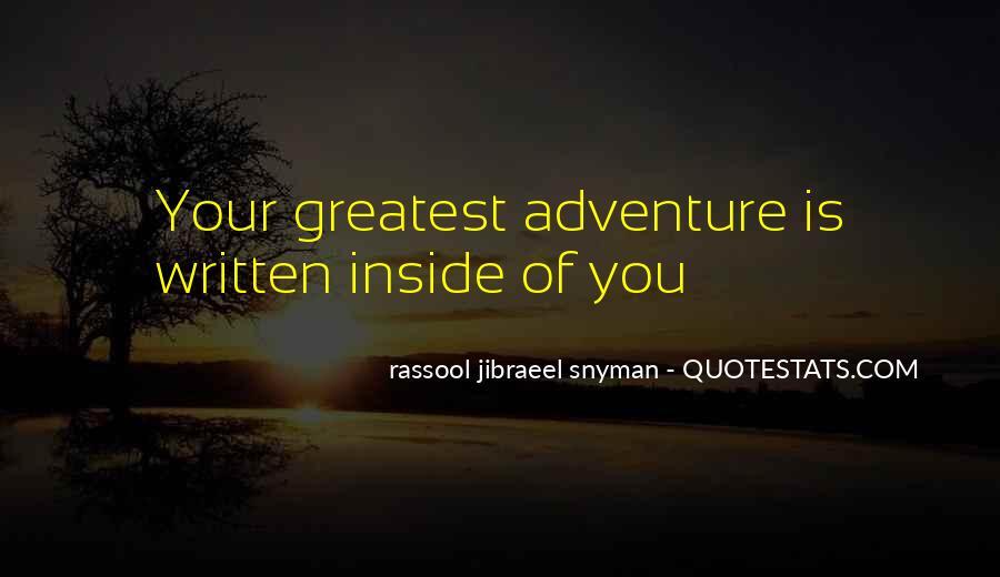 Rassool Jibraeel Snyman Quotes #154806