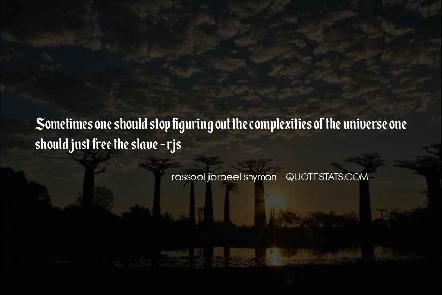 Rassool Jibraeel Snyman Quotes #1561179