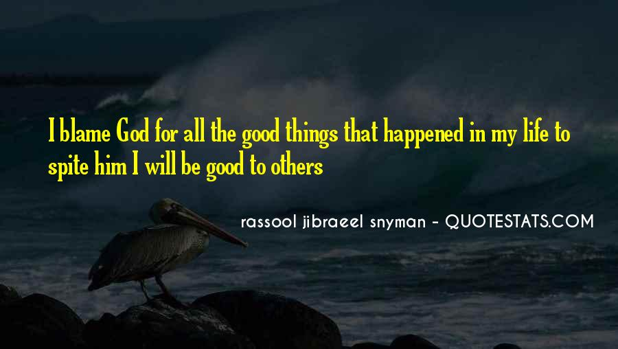Rassool Jibraeel Snyman Quotes #1660860