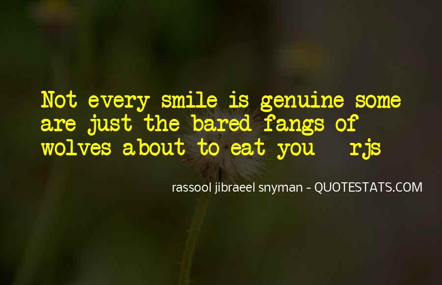 Rassool Jibraeel Snyman Quotes #342118