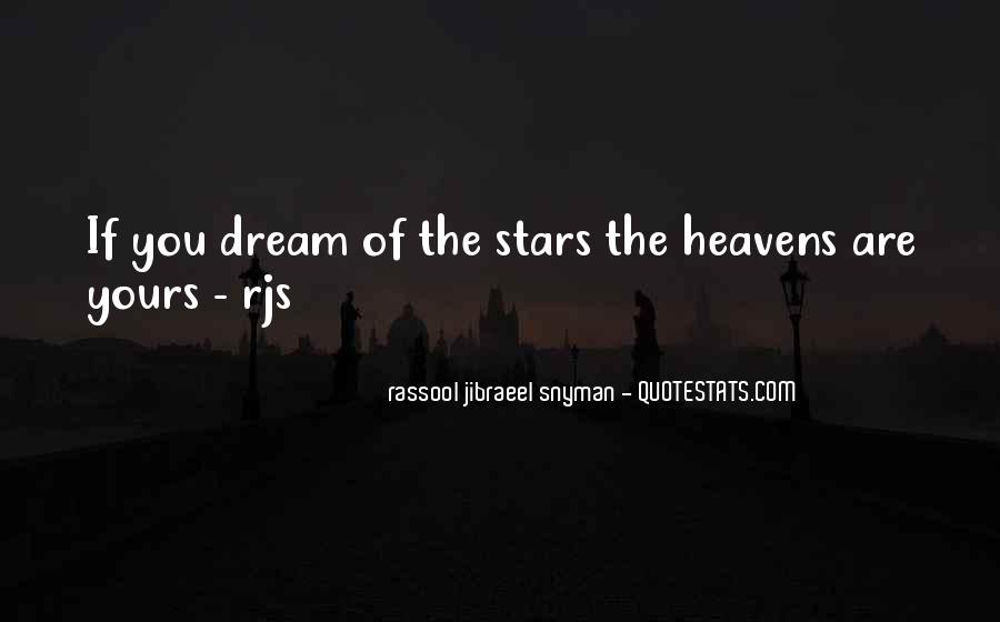 Rassool Jibraeel Snyman Quotes #475917