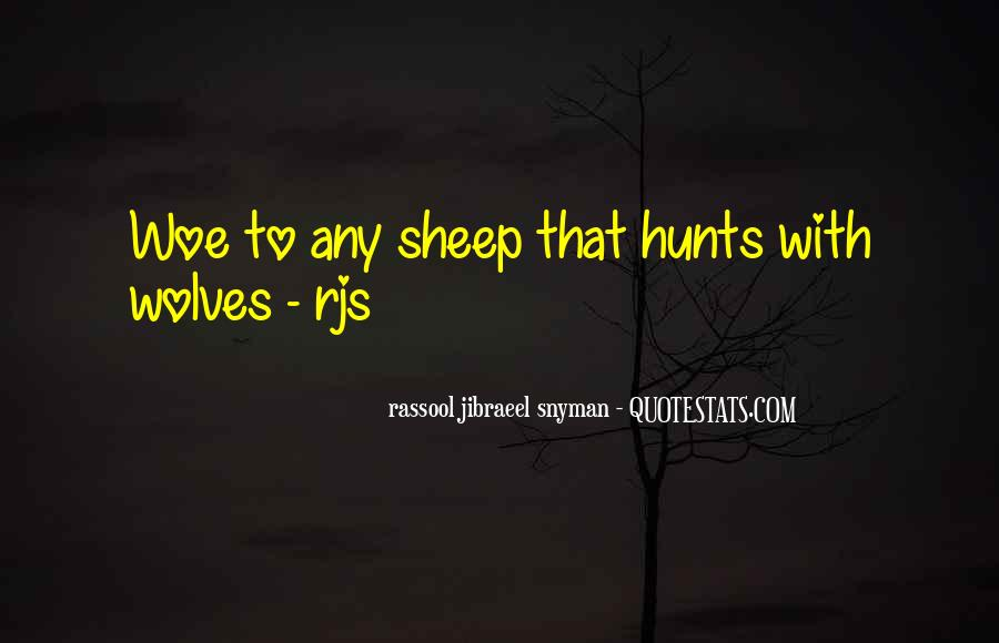 Rassool Jibraeel Snyman Quotes #607312