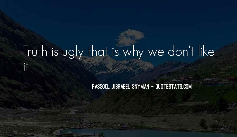 Rassool Jibraeel Snyman Quotes #611781