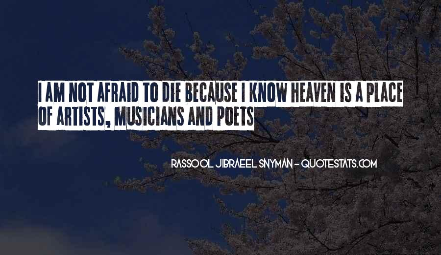 Rassool Jibraeel Snyman Quotes #6537