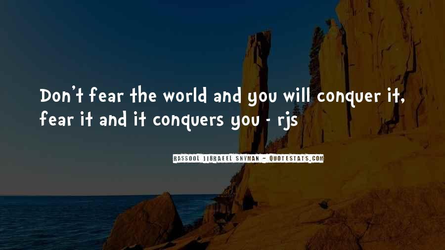 Rassool Jibraeel Snyman Quotes #90523