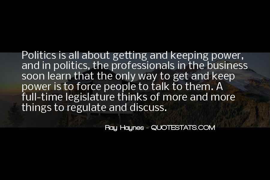 Ray Haynes Quotes #861290