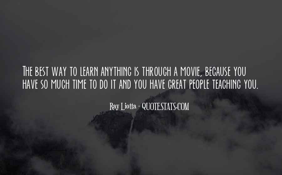Ray Liotta Quotes #1675441
