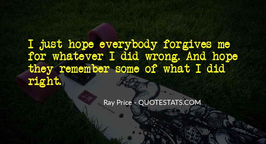 Ray Price Quotes #1483878