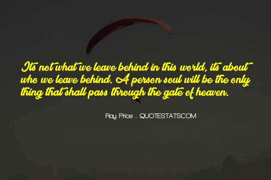 Ray Price Quotes #495532